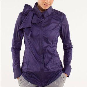 Lululemon Pedal Power Wind Shirt Jacket